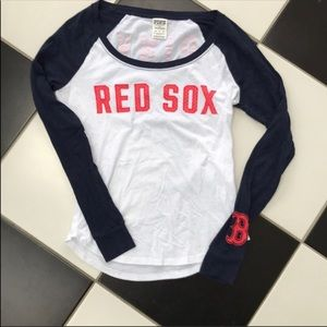 VS pink red sox tee